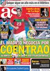Portada diario AS del 25 de Mayo de 2010