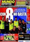 Portada Mundo Deportivo del 25 de Mayo de 2010