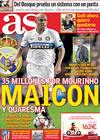 Portada diario AS del 26 de Mayo de 2010