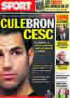 Portada diario Sport del 26 de Mayo de 2010