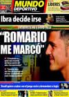 Portada Mundo Deportivo del 26 de Mayo de 2010
