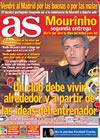 Portada diario AS del 28 de Mayo de 2010