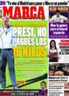 Portada diario Marca del 28 de Mayo de 2010
