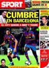 Portada diario Sport del 28 de Mayo de 2010