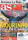Portada diario AS del 29 de Mayo de 2010