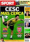 Portada diario Sport del 29 de Mayo de 2010