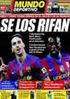 Portada Mundo Deportivo del 29 de Mayo de 2010