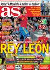 Portada diario AS del 30 de Mayo de 2010