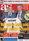 Portada diario AS del 1 de Junio de 2010
