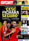 Portada diario Sport del 1 de Junio de 2010