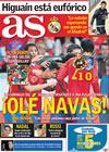 Portada diario AS del 4 de Junio de 2010