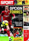 Portada diario Sport del 4 de Junio de 2010