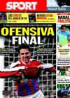Portada diario Sport del 5 de Junio de 2010
