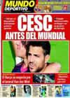 Portada Mundo Deportivo del 5 de Junio de 2010