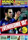 Portada Mundo Deportivo del 6 de Junio de 2010