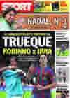 Portada diario Sport del 7 de Junio de 2010