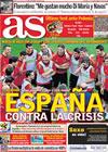 Portada diario AS del 8 de Junio de 2010