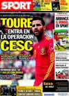 Portada diario Sport del 8 de Junio de 2010
