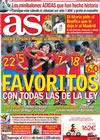 Portada diario AS del 9 de Junio de 2010