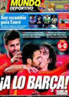 Portada Mundo Deportivo del 9 de Junio de 2010
