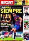 Portada diario Sport del 10 de Junio de 2010
