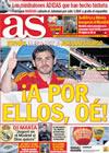 Portada diario AS del 11 de Junio de 2010