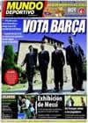 Portada Mundo Deportivo del 13 de Junio de 2010
