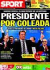 Portada diario Sport del 14 de Junio de 2010