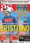 Portada diario AS del 15 de Junio de 2010
