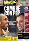 Portada Mundo Deportivo del 15 de Junio de 2010