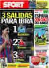Portada diario Sport del 16 de Junio de 2010