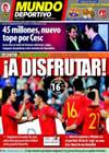 Portada Mundo Deportivo del 16 de Junio de 2010