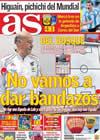 Portada diario AS del 18 de Junio de 2010