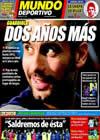 Portada Mundo Deportivo del 18 de Junio de 2010
