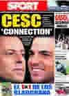 Portada diario Sport del 19 de Junio de 2010