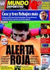 Portada Mundo Deportivo del 21 de Junio de 2010
