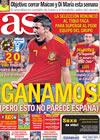 Portada diario AS del 22 de Junio de 2010