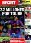 Portada diario Sport del 23 de Junio de 2010