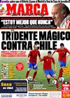 Portada diario Marca del 24 de Junio de 2010