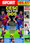 Portada diario Sport del 24 de Junio de 2010