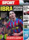 Portada diario Sport del 25 de Junio de 2010