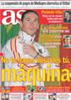 Portada diario AS del 27 de Junio de 2010