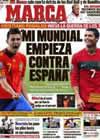 Portada diario Marca del 27 de Junio de 2010