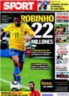 Portada diario Sport del 27 de Junio de 2010