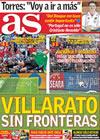 Portada diario AS del 28 de Junio de 2010
