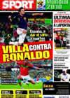 Portada diario Sport del 29 de Junio de 2010
