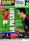 Portada Mundo Deportivo del 29 de Junio de 2010