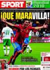 Portada diario Sport del 30 de Junio de 2010