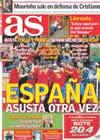 Portada diario AS del 1 de Julio de 2010