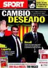 Portada diario Sport del 1 de Julio de 2010